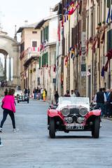 Mille Miglia, Gubbio 2017 (MikePScott) Tags: camera car events gubbio italia italy jaguar100 millemiglia nikon28300mmf3556 nikond600 ss transport umbria