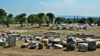 TEOS (Teo) Ancient City   Sigacık/Turkey. Dionysos Temple