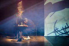"""Artaud, Le Mômo"" na Funarte SP (TAANTEATRO COMPANHIA) Tags: artaudlemomo funartesp gracielazapatta maurabaiocchi taanteatro causstellfeld antoninartaud"