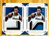 Pair of 2015-16 National Treasures Andrew Wiggins Super Swatches Prime /10s (CardKing739) Tags: nba whodoyoucollect patchcards panini minnasotatimberwolves andrewwiggins blowoutcards nationaltreasures superswatches rare beauty sportscards instagram pinterest facebook tumblr photo picture art