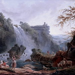 IMG_1762AB Hubert Robert. 1733-1808. Paris. Les Cascatelles de Tivoli.The Cascatelles of Tivoli.  Paris Petit Palais. thumbnail