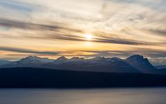 Sunset at Narvik (Antti Tassberg) Tags: kesä landscape narvik travel scandinavia hdr vuoristo pilvi auringonlasku norja aurinko cloud mountains norge norway sun sundown sunset nordland no