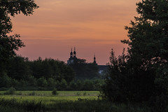 evening scenery (iwona.kilichowska) Tags: scenery rural evening sunset dusk nature church village landscape countryside colour poland lubelskie wolagułowska meadow