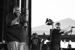 Run The Jewels (jhwill) Tags: vscofilm zeissbatis1885 blackandwhite 85mm batis blackwhite sony detroit michigan livemusic runthejewels monochrome event concert zeiss a6500 bw music mopopfestival performer