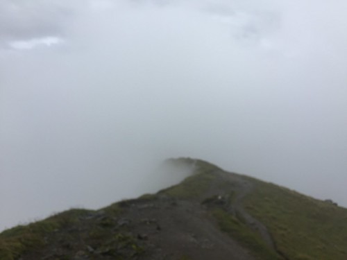 Cloud Path, Ben Ghlas, towards Ben Lawers