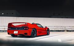 Tatsumi. (Alex Penfold) Tags: ferrari f50 supercars supercar super car cars autos alex penfold 2017 japan tokyo red