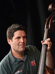 Tony Scherr (bass) (Peder Sterll) Tags: music tonyscherr københavn copenhagen jazz festival danmark denmark bryggen by sea bill frisell trio kenny wollesen outdoor guitar icon nikon d7100 nikkor 70200mm f4