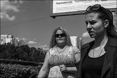 2_DSC7431 (dmitryzhkov) Tags: moskva moscow russia pretty prettywoman sunglasses glasses two couple converse conversation sony alpha black blackandwhite bw monochrome white bnw blacknwhite bnwstreet day daylight motion movement walk walker walkers pedestrian pedestrians sidewalk woman women lady sun sunlight sunshine sunday sunny shadow shine shadows light lights art city europe documentary journalism street streets urban candid life streetlife citylife outdoor outdoors streetscene close scene streetshot image streetphotography candidphotography streetphoto candidphotos streetphotos moment people citizen resident inhabitant person portrait