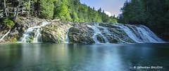 Chute Rivière aux Emeraudes (Seb BAUDIN) Tags: d7000 tokina pause 1224 longue filtre lee chute rivière aux émeraudes québec canada gaspésie forêt nd1000 big stopper