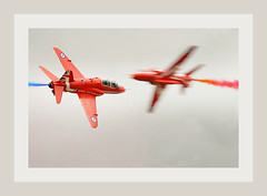 Red Arrows (PentlandPirate of the North) Tags: riat redarrows hawk fairford air show jets planes military