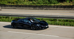 Amethyst. (FB CS) Tags: mclaren p1 mso amethyst black violet purple blue spoiler wing v8 woking carspotting supercar karlsruhe