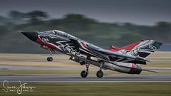 """ High Alpha "" (simonjohnsonphotography.uk) Tags: tornado nikonaviation aircraft nikon aviation riat jet simonjohnsonphotography highalpha airshow panning italianairforce tonka"