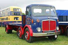 TV017565-Kelsall. (day 192) Tags: kelsall kelsallsteamvintagerally steamrally transportrally transportshow lorry lorries wagon truck classiclorry preservedlorry vintagelorry aec mustang aecmustang tjparrysons 493ftg