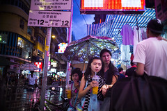 Night lights (人間觀察) Tags: leica m240p leicam leicamp f20 f2 hong kong street photography people candid city stranger mp m240 public space walking off finder road travelling trip travel 人 陌生人 街拍 asia girls girl woman 香港 wide open ms optics apoqualiag 28mm apoqualia optical night