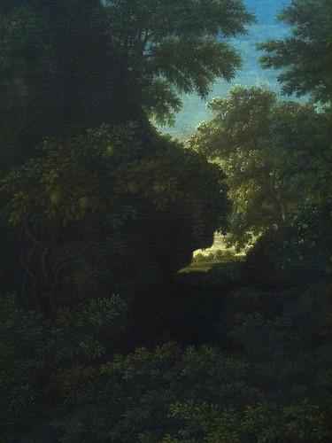POUSSIN Nicolas,1660-64 - Le Printemps, Le Paradis Terrestre (Louvre) - Detail 31