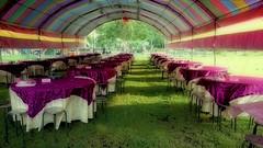 The prelude to the wedding banquet (葉 正道 Ben(busy)) Tags: weddingˍbanquet wedding banquet taichung taiwan outdoor 戶外 banquetˍculture culture 宴會文化 文化 喜宴 婚宴 台中街景 streetscape street 台中 台灣 街景 辦桌