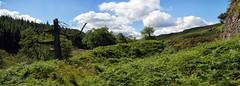 Defensive earthworks, Castle Crag Fort. (Tall Guy) Tags: tallguy uk unesco unescoworldheritagesite ldnp lakedistrict nationalpark cumbria ravencrag castlecrag fort