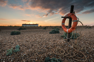 The coastguard cottages - Shingle  Street, Suffolk