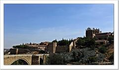 Puente de San Martín y Monasterio de San Juan de los Reyes- Toledo (Lourdes S.C.) Tags: paisaje puentes puentedesanmartín monasterios sanjuandelosreyes toledo