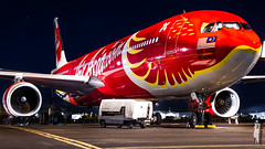 9M-XXT | A333 | D7 | YBBN (VH-JTB) Tags: xcintillatingphoenix xcintillating phoenix airasia d7 xax ybbn bne brisbane brisbaneairport logisticsapron limasix airbus a330 a333 a330300 df30 dirty30 rollsroyce rrollers rr trent700 rrt772b60 772b60 speciallivery livery paint red gold yellow canon canonaustralia 600d eos efs 1855mm exposurephotography photography airplane jet aircraft jetliner airliner vehicle gpu groundpowerunit apron ramp enginerun wingicelights enginelights white night nighttime light texture digital contrast july malaysia 9mxxt xxt