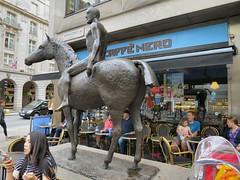 Horse and Rider - by Elisabeth Frink # 4