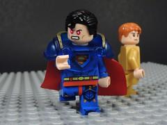 Earth Prime is the Perfect Earth (MrKjito) Tags: lego minifig super hero comic comics villain earth prime superman superboy alexander luthor infinite crisis custom angry 1