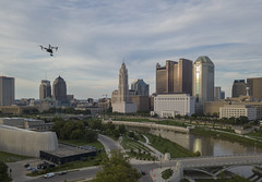 Inspire 2 Over Columbus (player_pleasure) Tags: columbus ohio ohiofoothills centralohio drone inspire2 mavicpro ariel evening cityscape outdoors