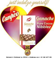 Ganache heart (campcochocolate) Tags: ganache nibs chocolate campco cocoa celebration srkgc soft sweet india madeinindia