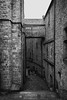 Grand Degré, Saint-Michel (julesnene) Tags: bay bayofmontstmichel canon canon7dmark2 canon7dmarkii canonefs1755mmf28isusm france granddegré juliasumangil lemontsaintmichel mont montsaintmichel normandy unesco unescoworldheritagecentre unescoworldheritagesite abbey ancient bw commune fortification island julesnene landmark lowtide monastery monotone rocky staircase steps tidal travel
