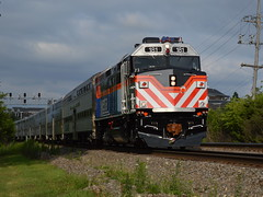 New face in town (Robby Gragg) Tags: metra f40ph3 181 clarendon hills