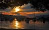 Trogir Sunset (Atilla2008) Tags: boats sunset silhouette wow trogir croatia d90 nikon colourful