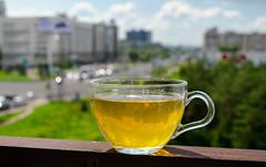 green tea (yozhzh) Tags: greentea tea height city summer bokeh
