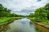 Minnehaha Creek (Mercenaryhawk) Tags: minnetonka minnesota mn landscape water creek trees cloudy canon eos 5ds 5dsr 14mm rokinon 28 green summer july beautiful minnehaha watershed clouds