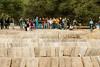 Trey Ratcliff (Thomas Hawk) Tags: america andygoldsworthy california paloalto photowalk photowalk08112011 southbay stanford stanforduniversity stoneriver treyratcliff usa unitedstates unitedstatesofamerica sculpture fav10
