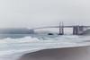A Foggy Morning at the Bridge (buffdawgus) Tags: bakerbeach bridge california californiacoast canon5dmarkiii canonef24105mmf4lisusm coastline goldengatebridge landscape lightrooom6 marincounty pacificcoast pacificocean sanfrancisco seascape thegoldengate topazsw