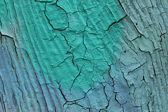 Cracked (gripspix (OFF)) Tags: 20170703 graffito detail abstract abstrakt texture textur paint farbe cracks risse wood holz