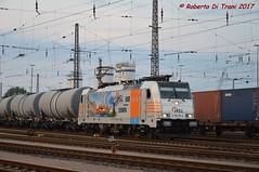 186 181-4 HSL (Di Trani Roberto) Tags: 186 1814 hsl rangierbahnhof hamburg hohe schaar 181 traxx