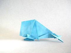 Baleia (Whale) - Jo Nakashima (Rui.Roda) Tags: origami papiroflexia papierfalten balena baleia whale jo nakashima
