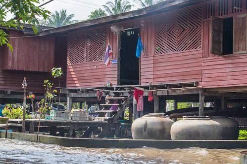 marche fottant damnoen saduak - thailande 45