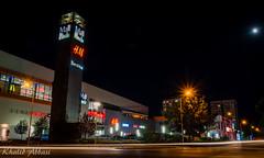 Mall Plovdiv at the Eventide (Khalid H Abbasi) Tags: nikond5500 tamron plovdiv bulgaria mallplovdiv trailinglightsphotography longexposure night nightphotography