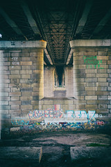 Bridge to you (Indigo_Flow) Tags: bridge russia river omsk siberia graffity