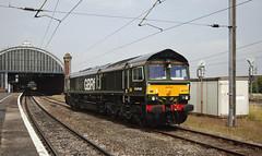 66779 Darlington 06/07/2017 (Flash_3939) Tags: 66779 eveningstar class66 diesel locomotive gbrf gbrailfreight darlington dar station fone rail railway train uk july 2017