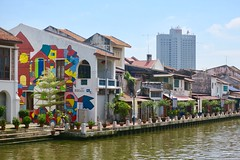 "Malacca/Melaka city looks like a little Venice in Malaysia  July 2017 #itravelanddance • <a style=""font-size:0.8em;"" href=""http://www.flickr.com/photos/147943715@N05/35907823881/"" target=""_blank"">View on Flickr</a>"