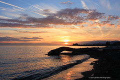 Iona Beach (gerry.bates) Tags: nature beach ionabeach shore vanvcouver bc canada canon sunset ocean sea sky couds seascape landscape water