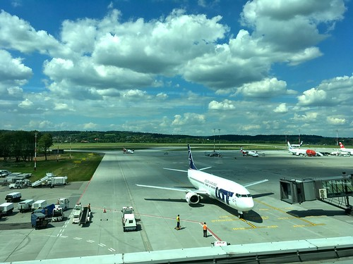 Krakow Airport Poland