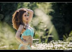 Dalia - 3/8 (Pogdorica) Tags: modelo sesion retrato posado rio alberche bikini chica sexy
