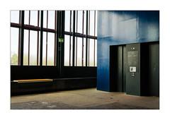 Corridors I (Frank Hoogeboom) Tags: essen zollverein germany color industrial urban obsolete empty window elevator corridor fineart photography abstract loft old ancient europe