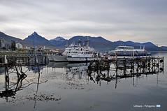 Ushuaia Harbor (YellowSingle 单黄) Tags: patagonia ushuaia argentina harbor canal beagle antarctica boat mountain nikon