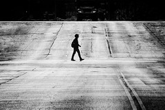 Black Man In A White World (fehlfarben_bine) Tags: nikondf streetsofchicago street streetphotography monochrome nearwestslide chicago illinois candid cityscape contrast carlscaptures photowalk thankyou