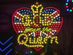 God's Own Junkyard (jericl cat) Tags: walthamstow london gods own junkyard neon sign art collection heaven god save queen bulb